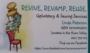 Upholstery and Sewing Services