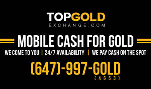 GTA'S #1 HIGHEST PAYING MOBILE CASH FOR GOLD & ROLEX BUYERS