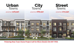 Townhouse Pre-Construction for Sale in PickeringSERIOUS QUERIES