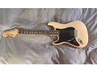 Left Handed USA Fender Strat with EVH Frankenstein Pickup