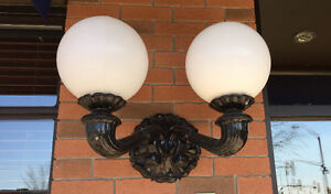 Pair Victorian Style Wall Sconces