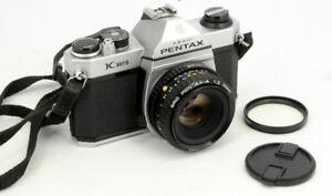 PENTAX K1000  BOITIER 35MM FILM ARGENTIQUE AVEC 50MM F/2