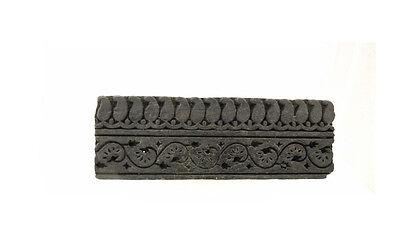 Antique Bunta Stamped Wood Printing Fabric Textile Batik Rajasthan India D6 Aa