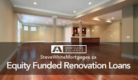 Home Renovations, Investment Financing Now Available