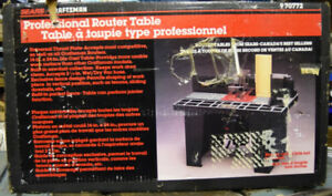 Router table kijiji in edmonton buy sell save with canadas new in box craftsman professional router table keyboard keysfo Gallery