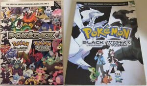 Pokemon Strategy Guide Black White and Pokedex