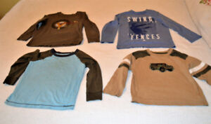 5 / 5T long sleeved shirts for fall and winter