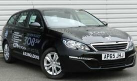 Peugeot 308 Active SW 1.6BlueHDi Manual Black 2015