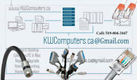 Networking Cables Management & Installation by KWComputers.ca...