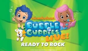 Bubble Guppies Live--3 Tickets--Face value