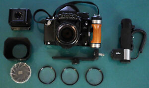 Pentax  6 x 7 with lens and accessories in excellent condition