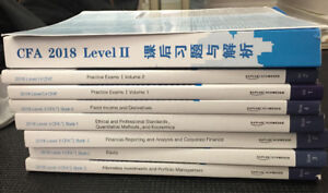 2018 CFA level 2, notes, practice exam and everything you need