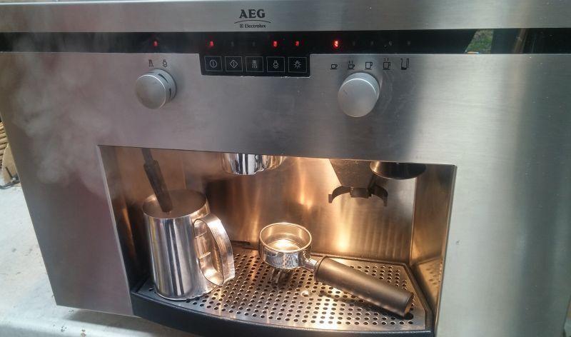 aeg electrolux pe 8036 m coffee maker built in espresso. Black Bedroom Furniture Sets. Home Design Ideas