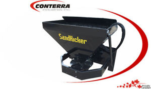 Sand Kicker - Sand Spreader for Skid Steers available @ Conterra