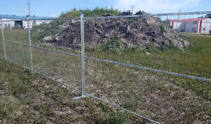 Temporary fencing / Construction fence panels