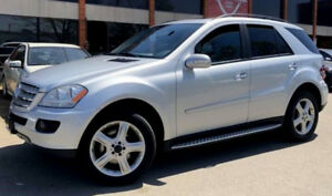 2007 Mercedes ML500, V8, 300HP , POWER SEATS, NAVIGATION, SAFETY