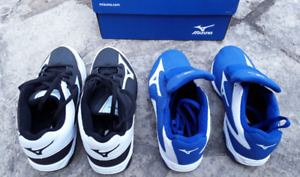 Mizuno youth baseball cleats shoes, sizes 6 and 7, exc cond