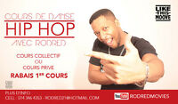 Cours de danse hip hop Privée/Private dance class