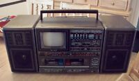 Radio AM/FM Cassette TV Lenoxx Sound Boombox A Voir