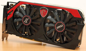 Msi Nvidia Gtx 760 2Gb Graphic Card (VENDU)