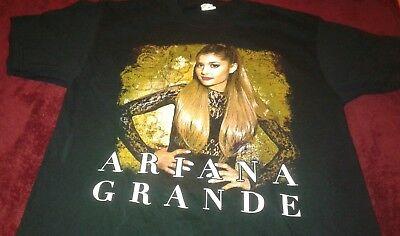 Ariana Grande The Honeymoon Tour 2015 Concert T Shirt Sz M