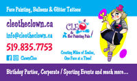 Birthday Party Specialists, Face Painting & Balloon Artists
