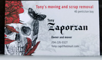 Tonys moving and scrap removal