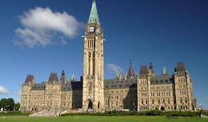 2 Deluxe Parliament View rooms at Westin Hotel for Canada