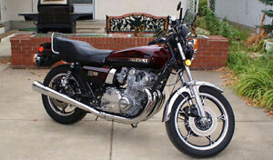 1978 GS1000E Owned since I was 18 (36 yrs)