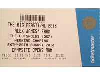 Jamie Oliver Feastival - 2 Adult Weekend tickets with camping