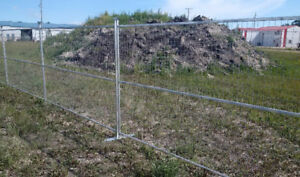 6x10 Rental Construction Fence