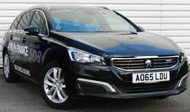 Peugeot 508 Active SW 1.6BlueHDi Manual 5 Door Estate Black 2015