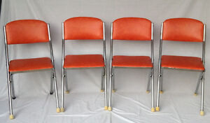 Retro Folding Chairs