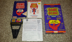 Selling Boxed Complete Game Genie for Original Nintendo+Extras!