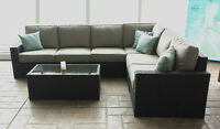 Patio Furniture, Outdoor Sectional, Patio Sets, Wicker Sofa