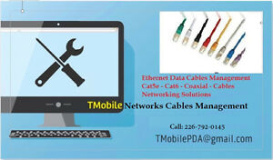 Network Cable Management Solutions - Networking Wires Stratford Kitchener Area image 1