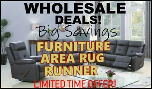 WHOLESALE - Deals - Furniture, Rugs, Runner,  Limited Time Only!