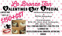 Valentines Day Special (Lashes , Teeth-Whitening & Tan)