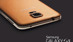 Wow galaxy s5 gold wow