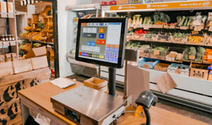 Point of sales (POS) , with setup and software with warranty!!!