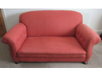 Clean 2/3 seater vintage settee/sofa