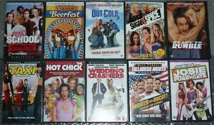 OLD SCHOOL comedies DVD collection. Lot of 10