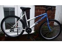 "**WOMENS / LADIES 26"" WHEEL 18 SPEED TOWN / MOUNTAIN BIKE - JUST CLEANED & SERVICED!**"