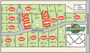 2 Building Lots with Flexible options.