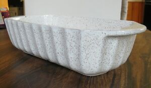 BLUE MOUNTAIN POTTERY LOAF DISH