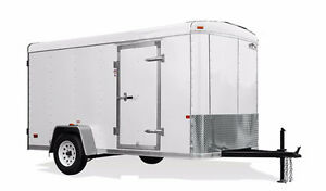 White Heavy Duty 8.5' X 14' Cargo Trailer