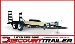 2017 7X16 Implement Equipment Trailer