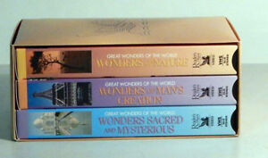 VHS – Great Wonders of the World – 3 tapes