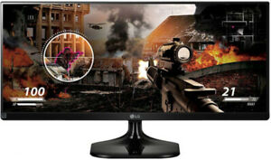 "LG 25"" Ultrawide FHD IPS Monitor, Neuf 199$"