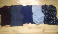 Size small & medium maternity tops